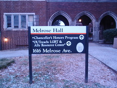 Resource Center Sign