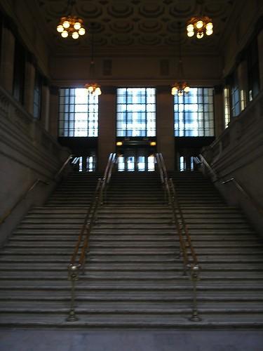 Escaleras Union Station