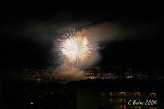 Fireworks (Cameron Burns) Tags: espaa geotagged spain fireworks mallorca majorca santaponca baleares calvia santaponsa balearics santapona stapona staponca staponsa reyenjaumefiesta