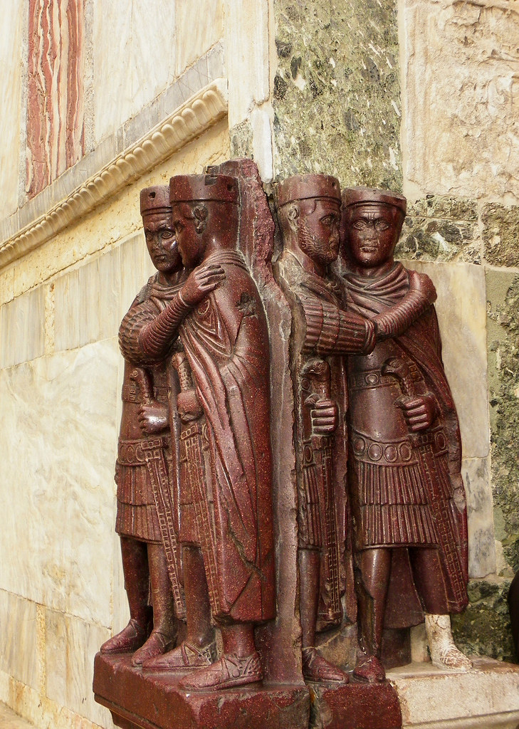 Venice - Tetrarchs On St. Mark's Basilica