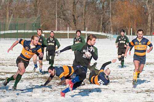 Rugbyfreundschaftsspiel Fiddlers Green Jena vs. Erfurt Oaks