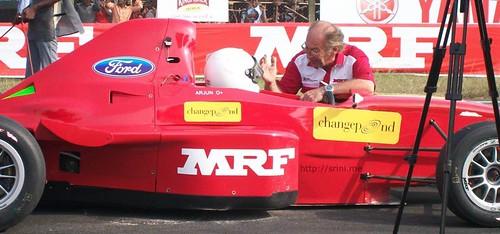 mrf race 299