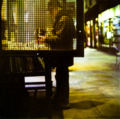 una finestra sulla cultura (Buldrock) Tags: film torino colore fuji cm hasselblad libri piemonte biblioteca 500 lettura portico pellicola pro160s letturedistrada pausaculturale
