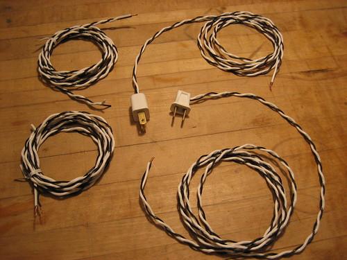 Zebra lamp cords