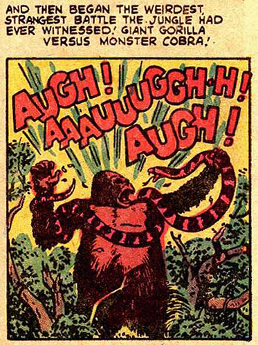 Gorilla Comic Panel