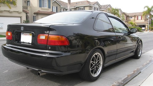 civic honda 1995 ex coupe speed