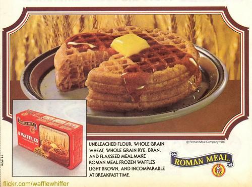 Roman Meal Waffles - 1980