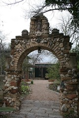 Gate to Jill Nokes' back yard