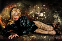 Black Canary (VictoriaCosplay) Tags: cosplay victoria superman wonderwoman batman fishnets blackcanary greenarrow cosplaygirl blackestnight wwwcosplaygirlwebscom