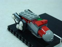 micro (Yodamann) Tags: road cheese lego space transport micro snot slope treads sclae yodamann