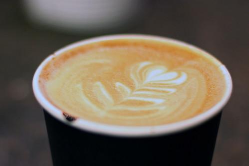 Ninth Street Espresso latte