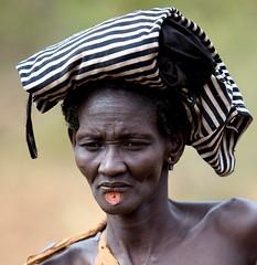 Traditional (ingetje tadros) Tags: africa travel portrait people woman face embroidery african culture jewelry tribal remote ethiopia ethnic ethiopian omo ethiopie tribel internationalgeographic memorycornerportraits ingetjetadros boditribe salamago
