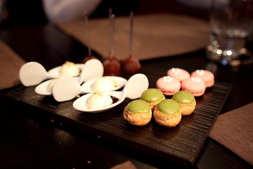 Miniardises aux saveurs japonaises