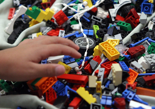 Lego free play (Bay Area News Group photo)