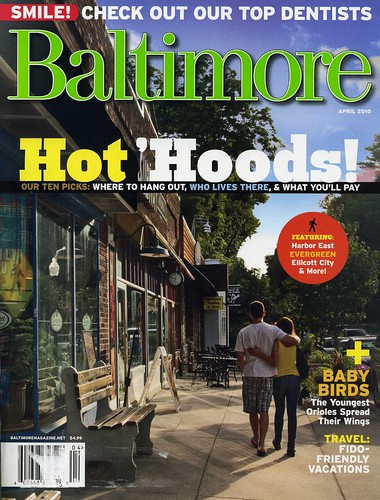 Baltimore Magazine April 2010