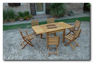 Amici Atos Snc: Wooden garden furniture - Arredamento in legno per giardino