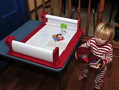Doodle Desk for a Toddler