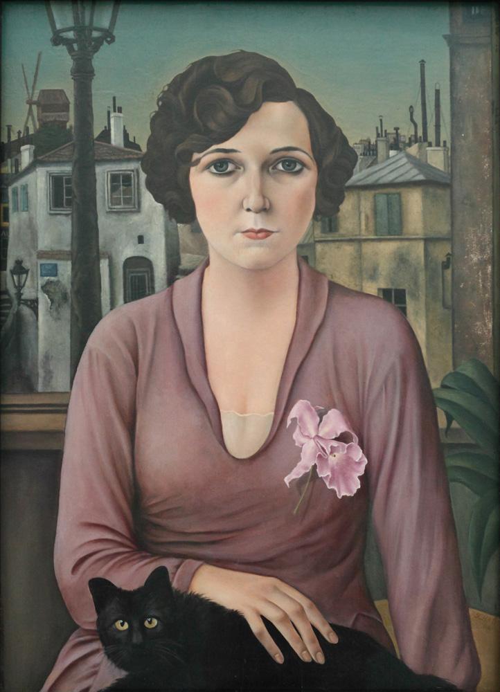 Christian Schad, Marcella, 1926