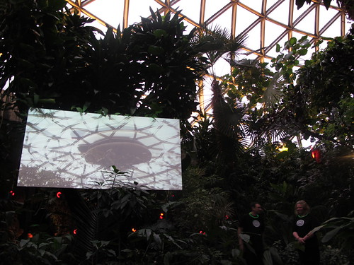 Paul Wong, Led Down The Garden Path – Bloedel Conservatory, Vancouver, 5-10pm, Feb. 27, 2010