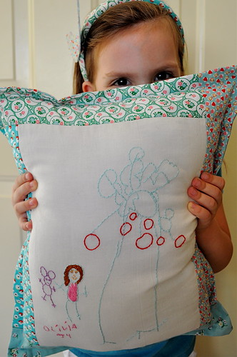 Apple Tree Pillow