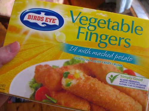 Vegetable fingers