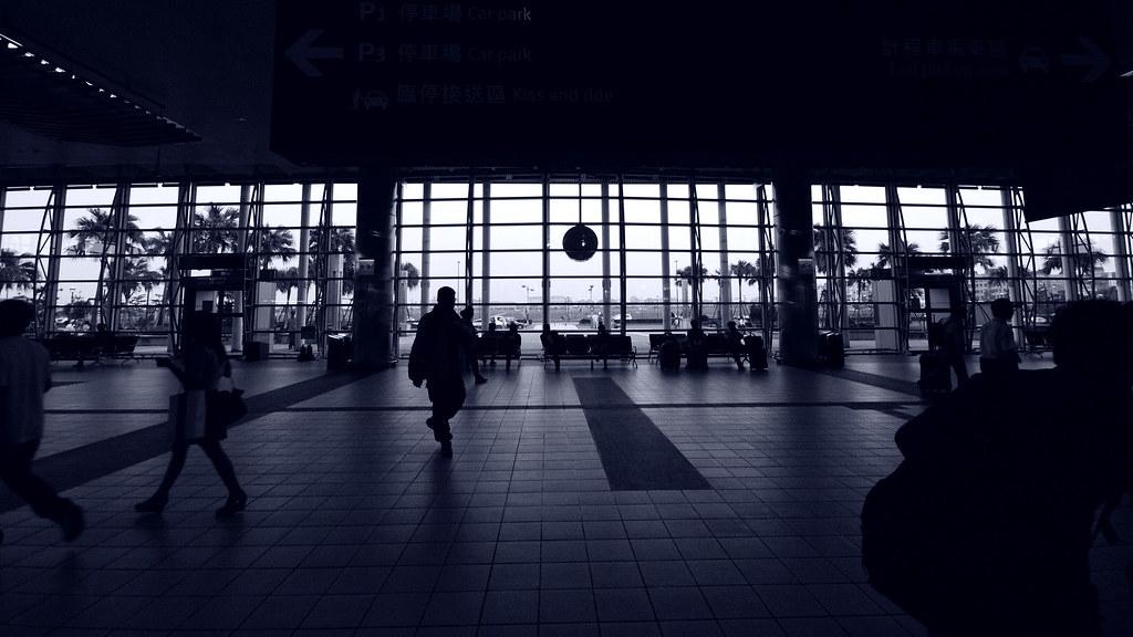 高鐵站內隨拍