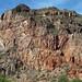 Il rosso delle rocce nel Cañón del Atuel