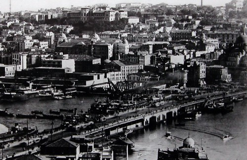 Istanbul, pont de Galata, détail