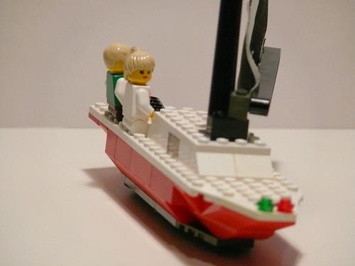 sailboat boat sailing lego