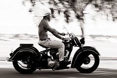 A Fine Motorbike (salkiwi) Tags: motion blur indian chief motorbike motorcycle 1946 panned 346