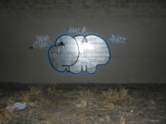 Upsidedown & Backwards (AmongstManyCriminals) Tags: sw amc sfgraffiti atb wkt swerv swervones