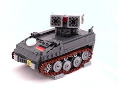 CEC Armbrust (Mechanekton) Tags: tank lego suspension military scifi missiles treads