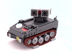 CEC Armbrust (Mechanekton) Tags: tank lego suspension military s