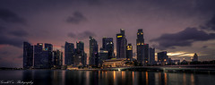 Sunset (Gerald Ow) Tags: geraldow sony a7r2 a7rii fe 1635mm f4 za oss singapore skyline golden hour ilce7rm2 central business district cbd flickr sg sky cloud wide angle long exposure night photography landscape sunset blue evening