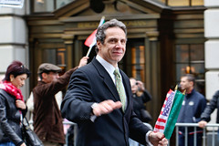 Andrew Cuomo (saebaryo) Tags: nyc newyorkcity canon 100mm 7d 2009 attorneygeneral columbusdayparade andrewcuomo canoneos7d canon100mmf28is columbusdayparade2009