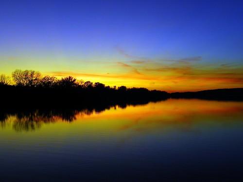 Saganashkee Slough sunset, Palos Hills IL (8)