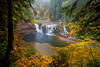 Lower Lewis Falls (Jesse Estes) Tags: color fall waterfall canon1635ii lowerlewisriver jesseestesphotography
