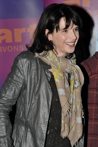 Actress Juliette Binoche at the screening of Juliette Binoche dans les Yeux