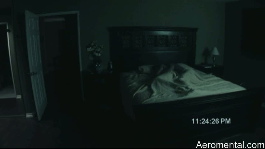 Paranormal Activity sleeping