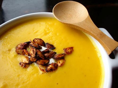 savory butternut soup
