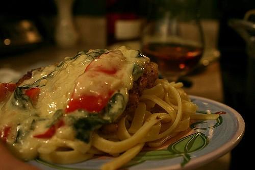 Dinner tonight - Tuscan garlic chicken