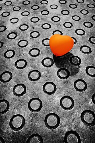 my big orange heart