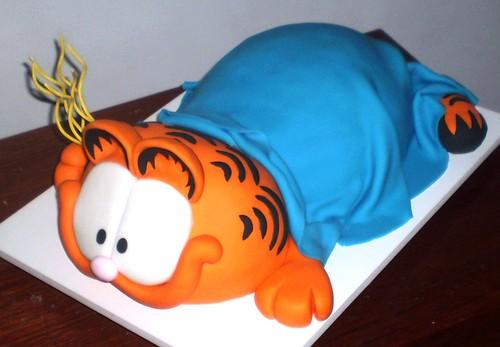 Bolo do Garfield