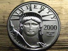 eagle platinum bullion