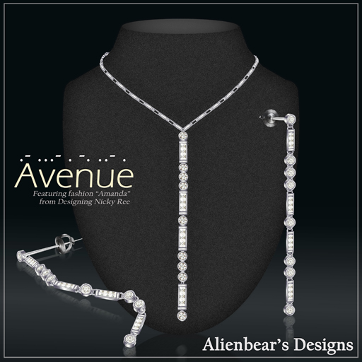 Avenue set white