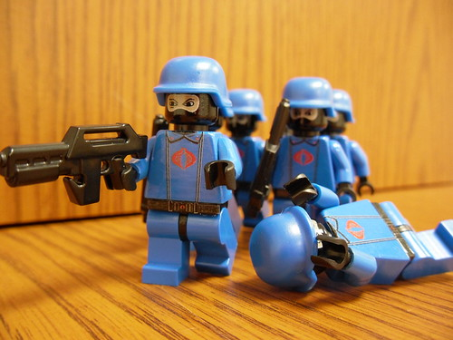 Cobra Trooper custom minifigs