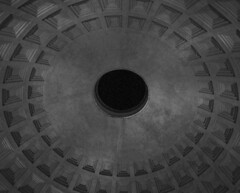 Pantheon Dome (William Elder) Tags: blackandwhite bw italy abstract rome art texture church architecture modern nikon europe fineart style best ceiling fa plafond fineartphotography avantgarde whiteandblack fromthepast williamelder austinphotoartist