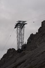 y (biologo) Tags: sky mountains alps rock schweiz switzerland wire construction suisse davos mast svizzera greysky funicular swissalps seilbahn graubnden teleferic svizra centraleasternalps strelapass easternalps plessurrange bezirkprttigaudavos plessuralpen