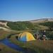 Campamento en el Arroyo El Arco