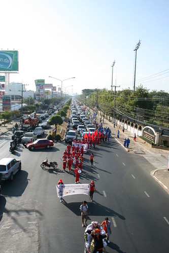 Traffic Jam Ubon Ratchathani